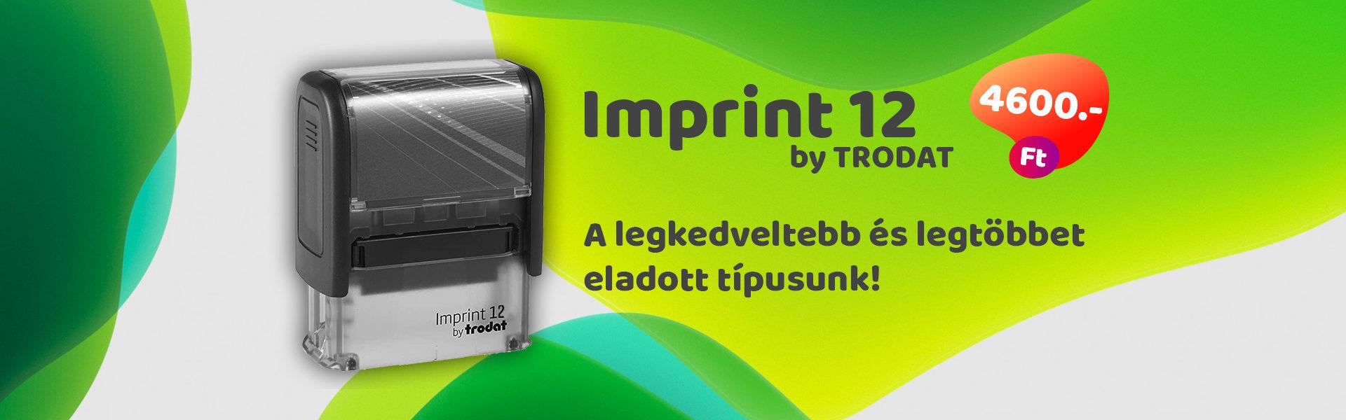 Trodat Imprint 11 olcsó bélyegző, pecsét
